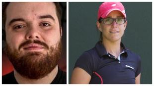 Ibai Llanos y Lucía Sainz se medirán el sábado en un partido de...