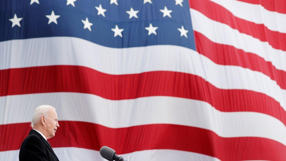 Joe Biden Investidura toma de posesion presidente Kamala Harris...