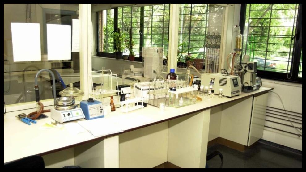 Imagen del laboratorio antidopaje de Madrid.