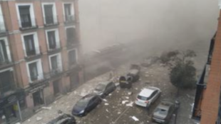Terrible explosión en el centro de Madrid: al menos hay tres muertos