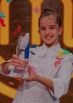 Aurora, la ganadora de 'MasterChef' que quiere ser química