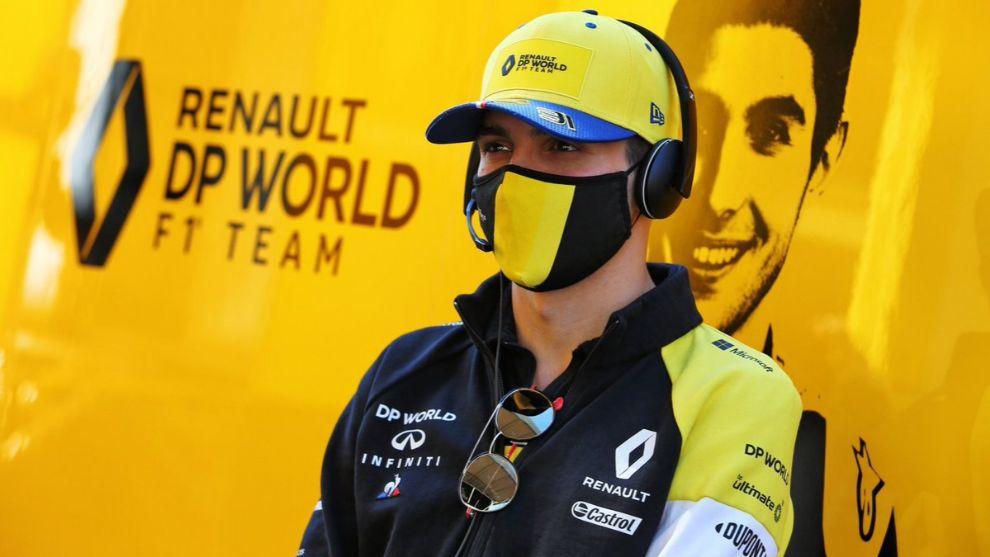 El nuevo compañero de Alonso, Esteban Ocon, con un Alpine en el Rally de Montecarlo