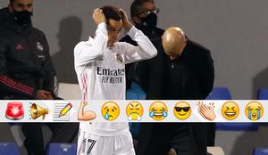 Zidane y Lucas Vázquez contra el Alcoyyano