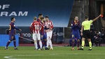 Calls to sanction referee who sent off Messi