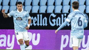 Murillo junto a Denis Suárez, en un patido de la presente temporada.