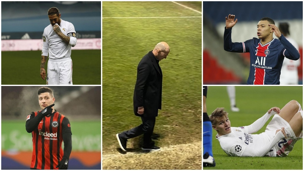 Real Madrid's complete crisis: Zidane's new low, Ramos' contract, Odegaard's exit...