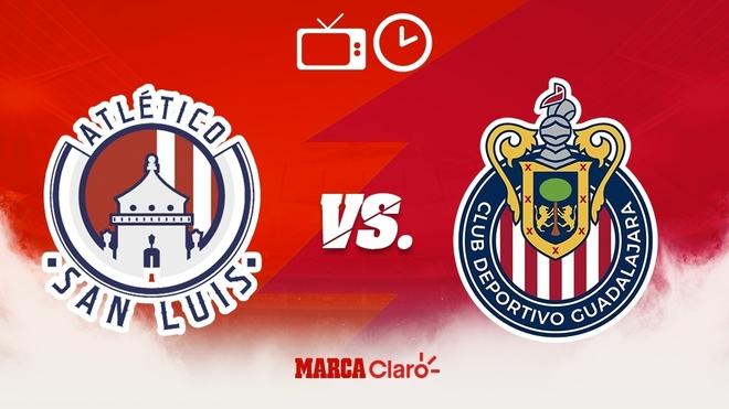 Atlético de San Luis vs Chivas: Horario y dónde ver.