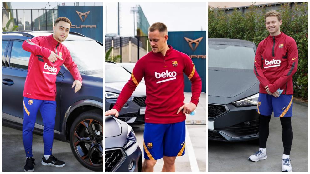 Así fue la entrega de los nuevos Cupra a los jugadores del Barcelona