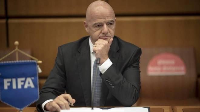 El presidente de la FIFA, Gianni Infantino