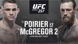 McGregor vs Poirier: cartelera, horario y donde ver en TV y online el...