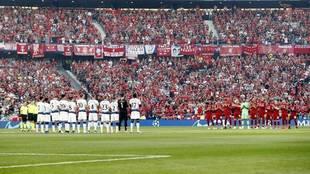 Liverpool y Tottenham, en la final del Metropolitano.