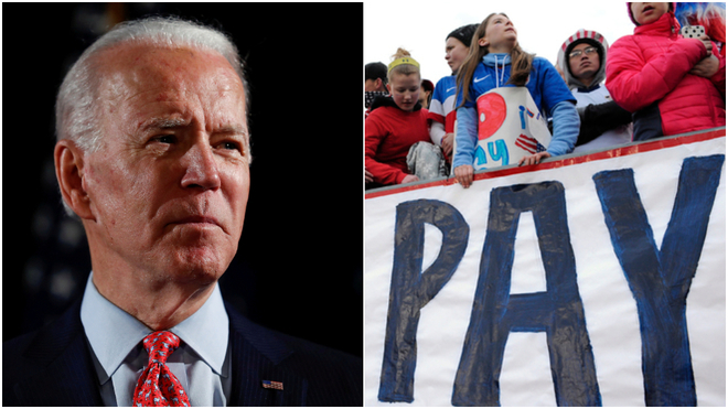 Joe Biden could demand equal pay for the United States women's national team