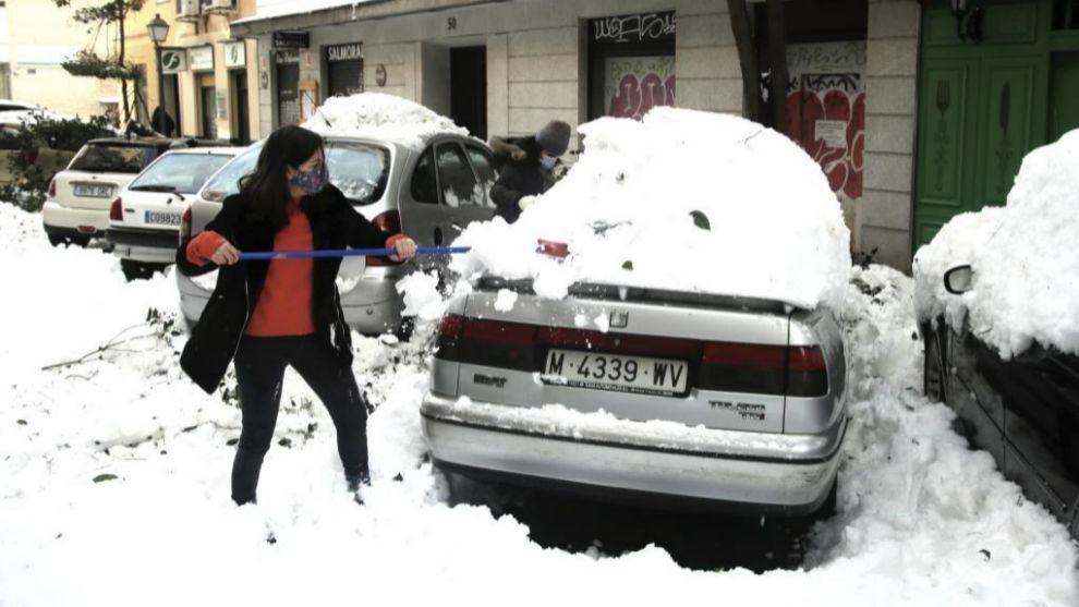 Los efectos de las nevadas suelen estar curbiertos por los seguros a todo riesgo.