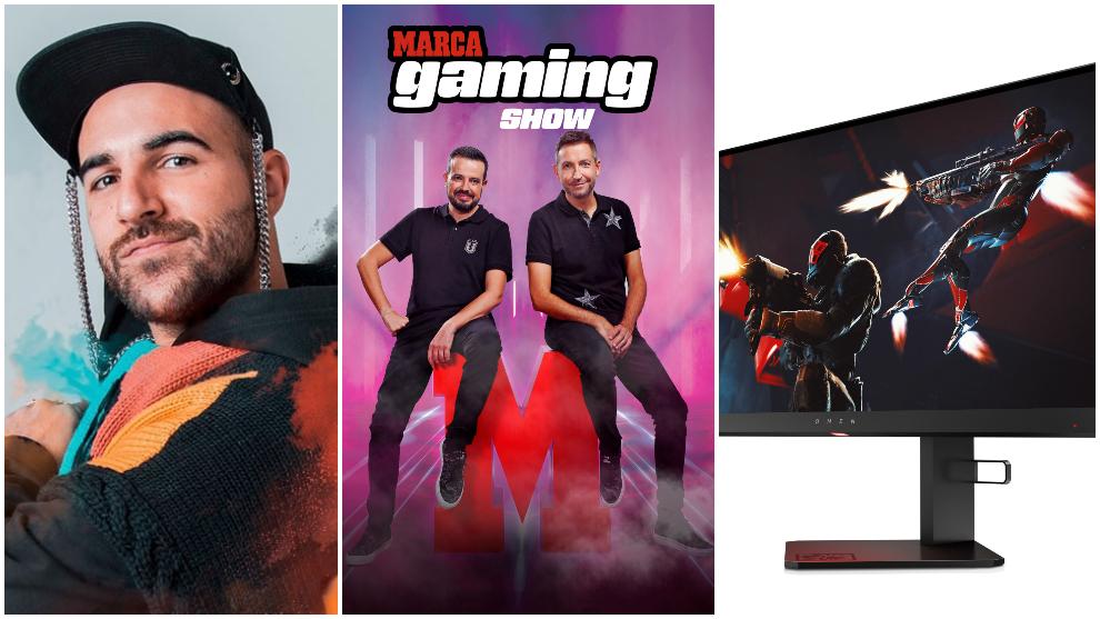 Hoy en MARCA Gaming Show  estará  Nil Moliner y sorteamos un monitor OMEN