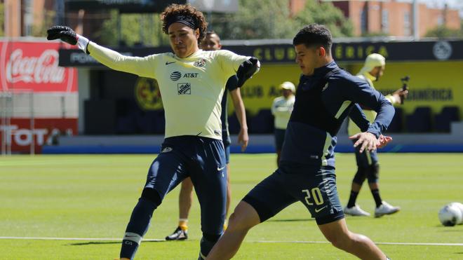 Guillermo Ochoa regresa a los entrenamientos con América tras superar el COVID-19