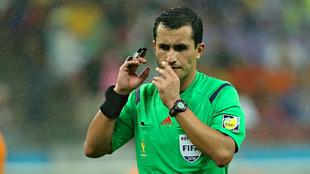 Enrique Osses en el Mundial de Brasil 2014