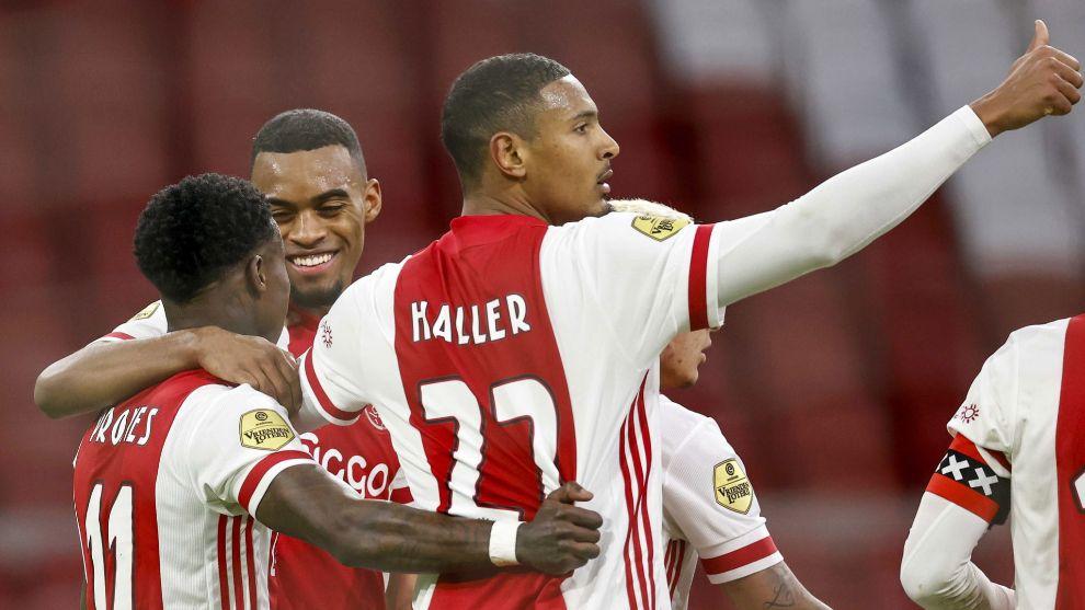 Haller, del Ajax.