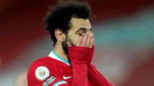 Salah started on the bench