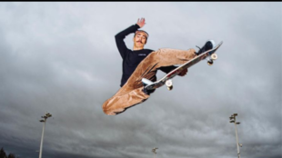 El skater español Danny León en exclusiva para Marca Claro