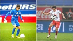Gerardo Arteaga y Omar Govea juegan con sus equipos.