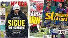 Las portadas de la prensa catalana al sofoco del Barça