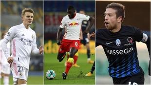 Odegaard y el Arsenal, Papu Gómez y el Sevilla, Upamecano y casi...