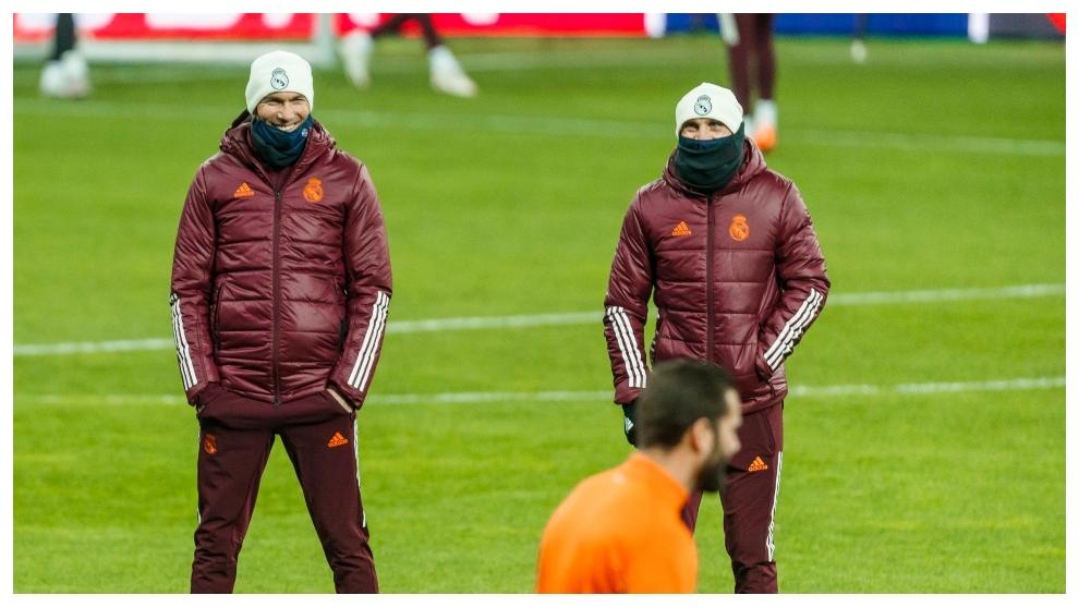 Bettoni and Zidane together