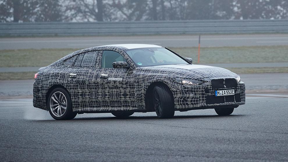 El futuro BMW i4 podría ser la base del primer M eléctrico.