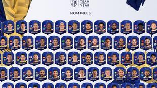 Nominados al TOTY 21