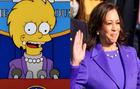 Los Simpson lo vuelven a hacer: la predicción sobre Kamala Harris