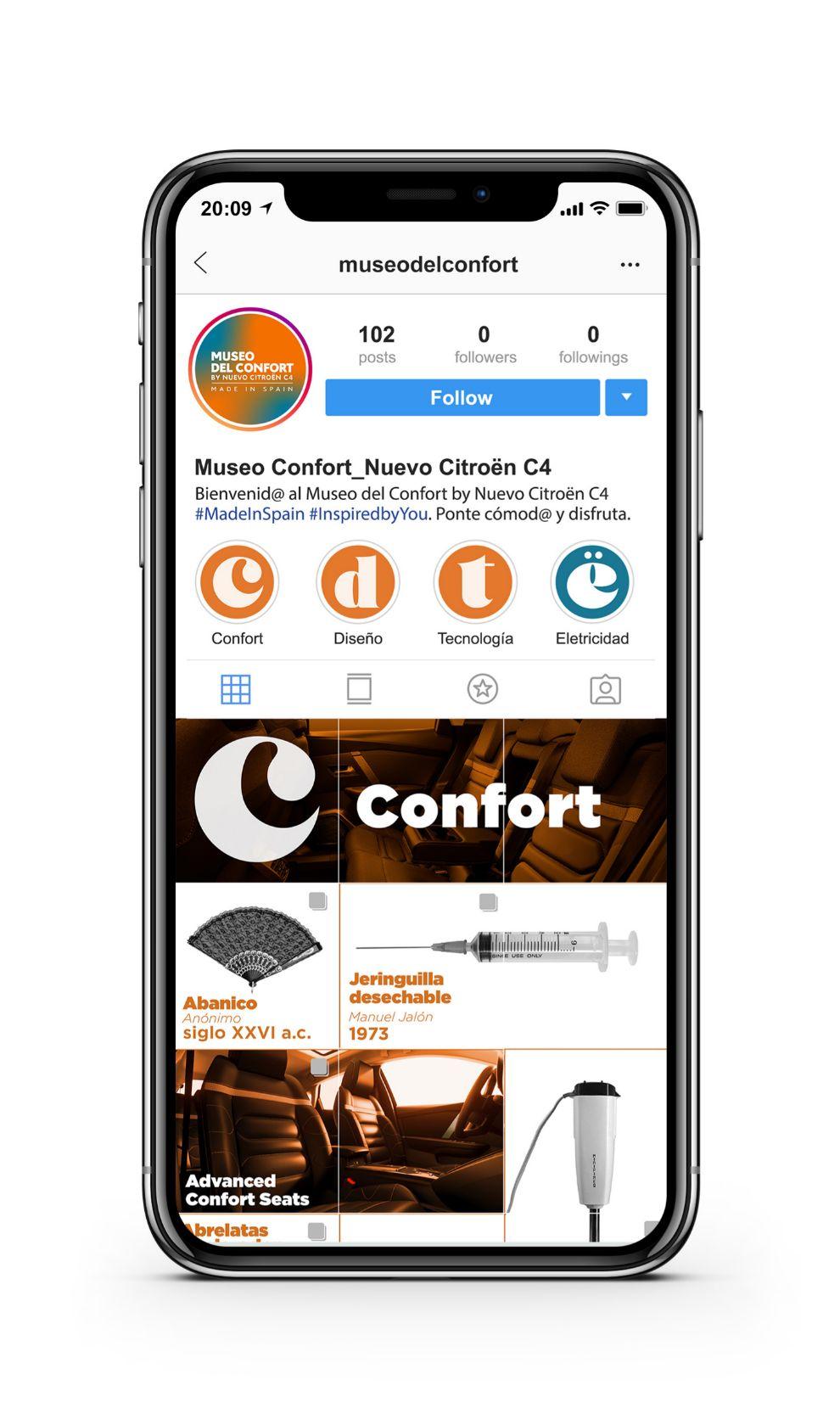 El museo del confort también podrá visitarse de forma interactiva.