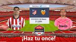 Juega el Atlético-Valencia y compite por premios exclusivos