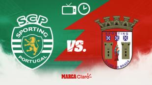Horario y dónde ver el Sporting Lisboa vs Braga Final de la Copa de...