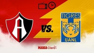 Atlas vs Tigres en vivo: Horario,cómo y dónde ver online y por TV el...