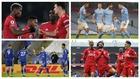 Man. United, City, Leicester y Liverpool ocupan los cuatro primeros...