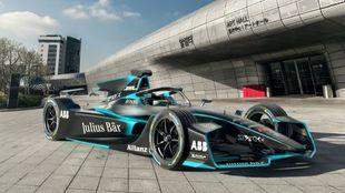 El Gen2, el nuevo coche de la Fórmula E.