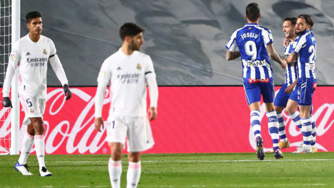 Alaves' previous win over Real Madrid