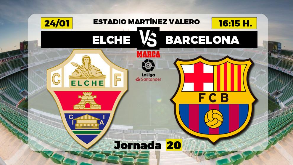 Elche vs Barcelona – Thống kê, dự đoán tỷ số, đội hình