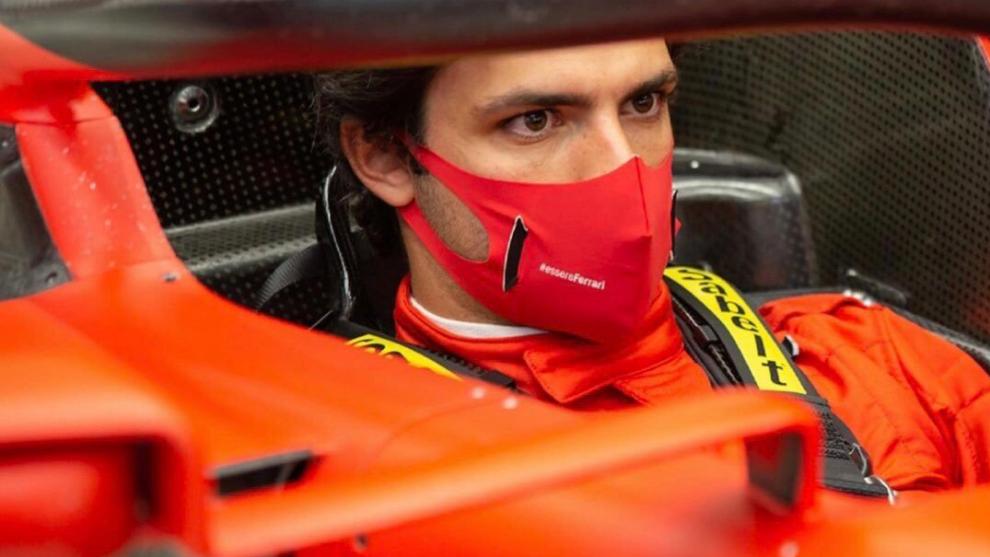 Carlos Sainz se estrena con Ferrari la próxima semana.