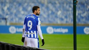 Willian José sale de la Real Sociedad