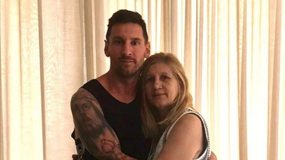 Messi's affectionate birthday message to his mother