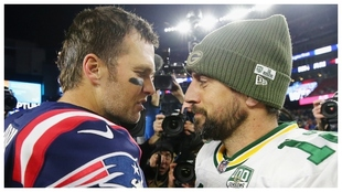 Tom Brady contra Aaron Rodgers, Buccaneers frente a Packers.
