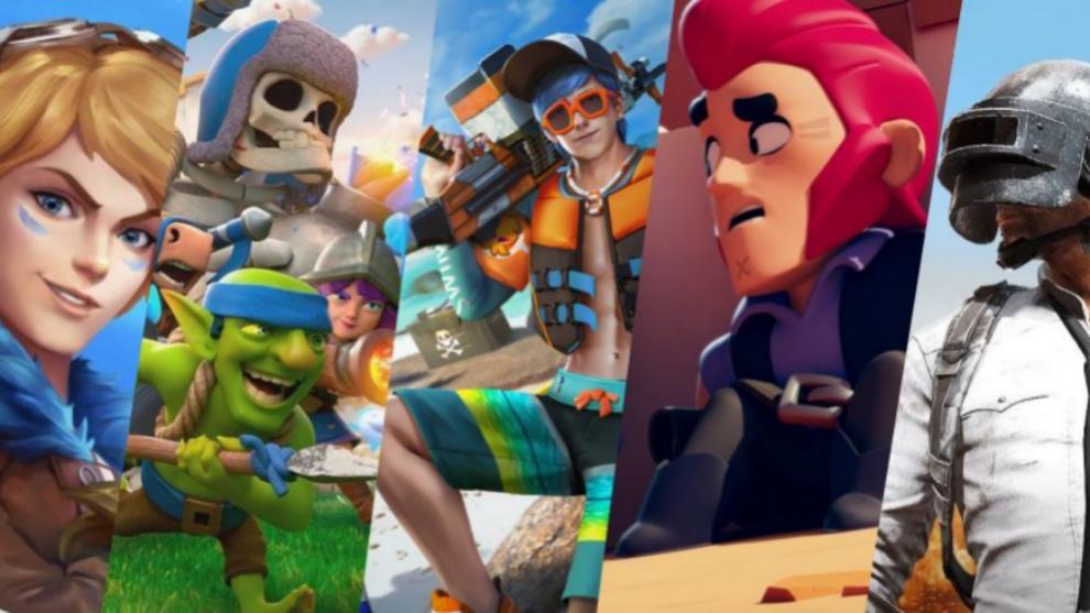 Algunos de los videojuegos de móvil más importantes de la industria.