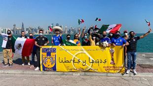 Los Libre y Lokos ya se encuentran en Qatar |