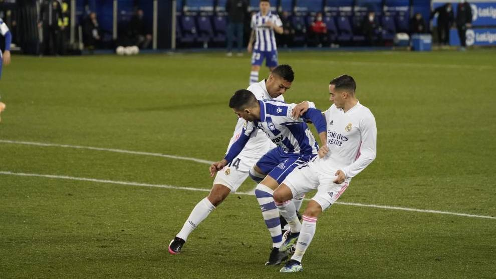 Alaves 1 4 Real Madrid Real Madrid Ratings Vs Alaves When Benzema Is Inspired Life Is Easier For Real Madrid Marca