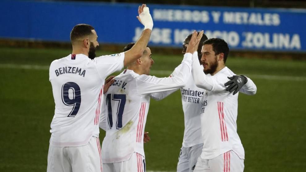El Madrid se levanta