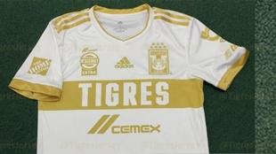 Tigres estrenará uniforme dorado en el Clausura 2021.