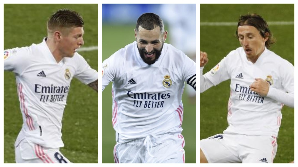 Benzema-Modric-Kroos: The trio that never let Real Madrid down