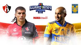 Atlas vs Tigres en vivo y en directo online: Clausura 2021 del fútbol...