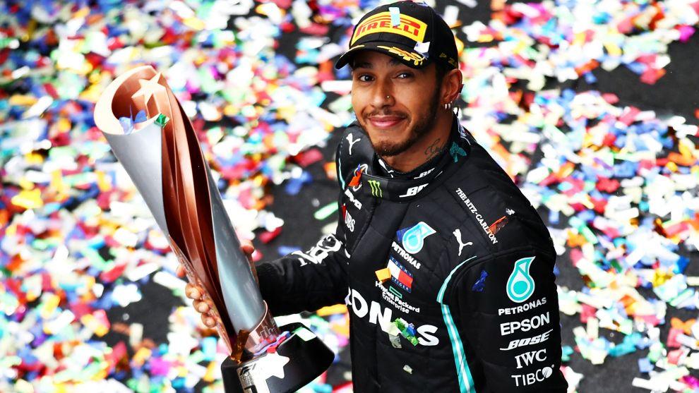 Lewis Hamilton, en 2020.